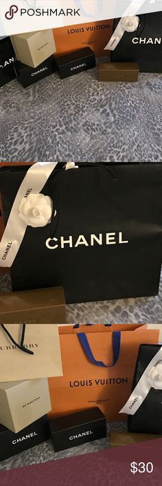 Boxes/Bags!!! ❤❤❤make offer Super cute brand bags. $50/40/$30/$20 CHANEL Accessories