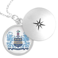 Alpha Xi Delta Crest Color Pendants