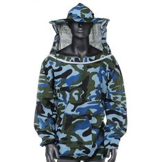 New Arrival High Quality Beekeeping Jacket Veil Smock Equipment Supplies Bee Keeping Hat Sleeve Suit