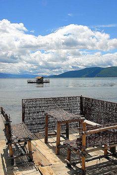 Macedonia, Land of Breathtaking Landscapes Albania, Bulgaria, Macedonia Skopje, Republic Of Macedonia, Wonderful Places, Amazing Places, Lake Resort, Paradise On Earth, Thessaloniki