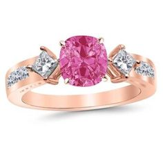 https://ariani-shop.com/23-carat-3-stone-channel-set-princess-cut-diamond-engagement-ring-14k-gold-with-a-15-carat-cushion-cut-aaa-quality-pink-sapphire-heirloom-quality 2.3 Carat 3 Stone Channel Set Princess Cut Diamond Engagement Ring 14K Gold with a 1.5 Carat Cushion Cut AAA Quality Pink Sapphire (Heirloom Quality)