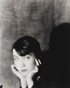 Berenice Abbott in 1921, photographed by Man Ray. It was under his tutelage that she became a photographer. Peggy Guggenheim and Robert McAlmon helped finance her first studio.