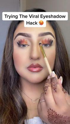 Face Makeup Tips, Makeup Eye Looks, Eye Makeup Art, Cute Makeup, Eyeshadow Looks, Gorgeous Makeup, Skin Makeup, Eyeshadow Makeup, Beauty Makeup