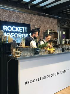 Holy Water cocktail bar at the Rockett St George Housewarming Launch Party at Liberty London #rockettstgeorge #liberty #london #libertylondon #launch #event #housewarming #city #rsg #interiors #interior #homeware #home #house #inspiration #customer #party #cocktails #alcohol #glitter