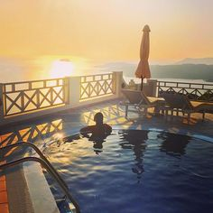 Santorini Hotel Volcano View, a 5 star hotel in Santorini,Fira.The largest Santorini hotel,recognised as the most easily accessible of Caldera Santorini Hotels. Fira Santorini, Santorini Sunset, Santorini Hotels, 5 Star Hotels, Volcano, Say Hello, Greece, Instagram, Boiler