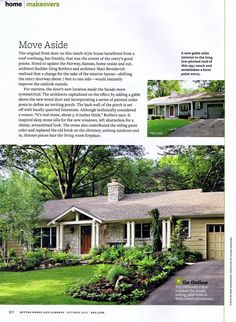 Awesome Remodeled Ranch Homes Before And After Before And After Exterior Inspirational Interior Design Netriciaus