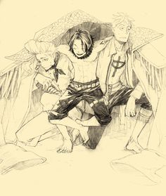 Portgas D. Ace, Marco and thatch piece One Piece Comic, One Piece Ace, One Piece Fanart, One Piece Series, Ace And Luffy, Fairy Tail Funny, Best Artist, Aesthetic Art, Anime Art