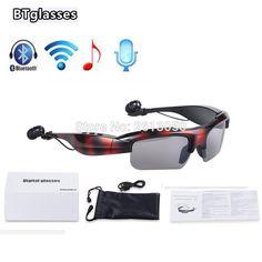 53.12$  Buy here - http://alistj.shopchina.info/go.php?t=32745033932 - Wireless Sunglasses Stereo Sports Bluetooth Music Headset Headphone Earphone Music Earpods Smart 3D Glasses for all Smartphone 53.12$ #magazineonlinewebsite