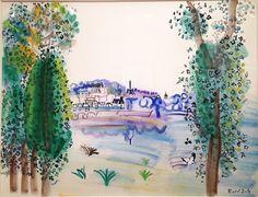 Raoul Dufy, Le château d'Amboise