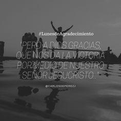 #Lunesdeagradecimiento  ...Nunca es tarde para agradecer.  - @carlosdeperezj