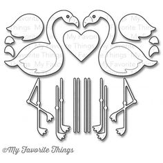 MY FAVORITE THINGSMy Favorite Things FLAMINGOS Die-Namics MFT655