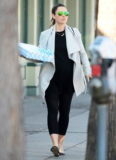Jessica Biel and Her Baby Bump Hit the L.A. Streets in Style  #InStyle
