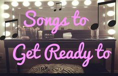 Songs to Get Ready to If you are like me, then you have music playing at all times. I especially love to listen to music when I am getting ready to go out. When you play music while you get ready, it makes your routine 10x more fun! Here is a song to get ready to for every kind of night out you may be preparing for,...  Read More at http://www.chelseacrockett.com/wp/lifestyle/songs-to-get-ready-to/.  Tags: #FirstDate, #Friends, #GetReady, #GirlsNightOut, #GoingOut, #Musi