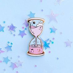 hourglass workout routine Hourglass Enamel Pin by SugarnovaShop on Etsy Bag Pins, Jacket Pins, Hard Enamel Pin, Pin Enamel, Cool Pins, Metal Pins, Pin And Patches, Disney Pins, Brighten Your Day
