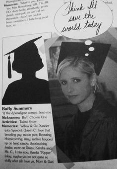 Sunnydale yearbook: Buffy