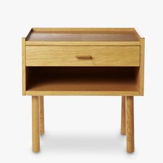 Hans-Wegner-Bedside-Oak-Front-1200 W: 480mm H: 470mm D: 350mm correct dimensions height / could be a little low