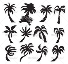 New Ideas Palm Tree Tattoo Meaning Ink Tree Tattoo Designs, Design Tattoo, Tree Tattoo Meaning, Tattoos With Meaning, Tree Illustration, Illustrations, Small Tattoos, Cool Tattoos, Tree Tattoos