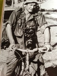Henri Huet | Vietnam Photographer Henri Huet Wearing ARVN Windproof Camo ...