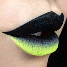 fierce alien queen lips - christina parga [depechegurl | instagram]