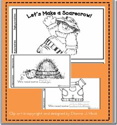 "Booklet, ""Let's Make a Scarecrow"""