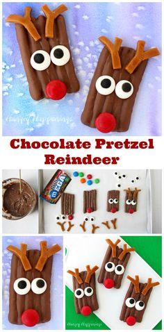 This Christmas have fun in the kitchen decorating salty and sweet Chocolate…