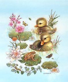Beautiful illustrations of cute animals Art And Illustration, Illustration Mignonne, Cute Animal Illustration, Art Mignon, Cute Baby Animals, Oeuvre D'art, Animal Drawings, Art Pictures, Cute Art