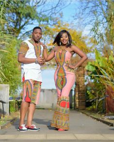African Clothing African attire African wear by AfricanFashionFarm Couples African Outfits, Couple Outfits, African Attire, African Wear, African Shirts, African Print Dresses, African Fashion Dresses, African Dress, Ankara Fashion