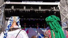Creative exploration of black hairstyles at AfroPunk Johannesburg