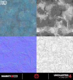 ArtStation - Uncharted 4: Various Materials, Rogelio Olguin
