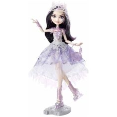 Duchess Swam. Fairest On Ice. doll Mattel