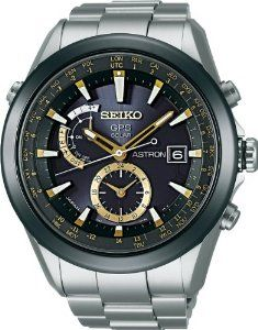 SEIKO Astron GPS Solar Powered Watch: The world's first GPS solar watch. It requires no external power source and is entirely self-sustaining. Using just the power of light, it connects to the GPS network, and tells time with atomic clock precision, adjusting at the touch of a button to all 39 time zones on earth. #Watch #GPS #Solar