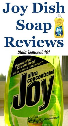 Joy dish soap reviews and uses around your home, as shared by Stain Removal 101 readers #JoyDishSoap #JoyDishwashingLiquid #DishSoapReviews Deep Cleaning Tips, House Cleaning Tips, Spring Cleaning, Cleaning Hacks, Cleaning Supplies, Hydrogen Peroxide Uses, Sweat Stains, Clean Baking Pans, Toilet Cleaning