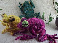 Ravelry: Tree Frog pattern by Hansi Singh