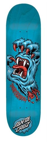 Santa Cruz, Screaming Yeti Hand skateboard art/graphic by Jim Phillips