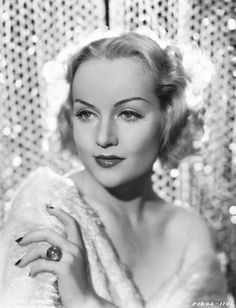 Carole Lombard Clark Gable's wife died in plane crash during WW2