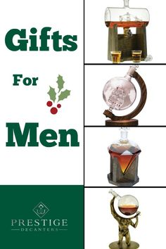 gifts for men for the holidays prestige decanters offers high quality options for hand blown