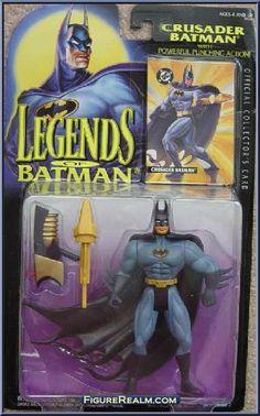 Kenner Legends of Batman Series 1 Batman (Crusader) Figure 1994