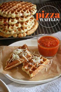 Pizza Waffles // shutterbean