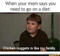 diet, chicken, nuggets, lol