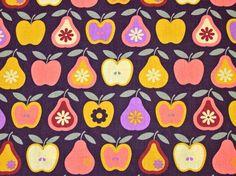 Baumwollstoff Apfel