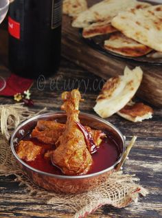 Rajasthani red chicken curry 3