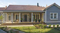 KANNUSTALO vihervaara New England Style, Small, Small House, Home, Outdoor Decor, House, Outdoor Living