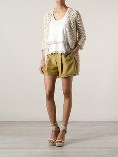 Summer cardigan in pima coton by STELLA PARDO #crochet #handmade