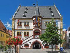 Volkach (Bayern) - Town hall / Rathaus / Mairie