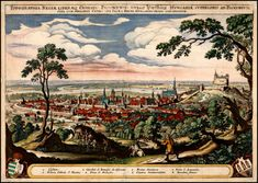 Pozsony) in 1638 as the coronation site and legislative center of the Kingdom of Hungary from 1536 to Chalcography on paper by Matthäus Merian. Vintage Wall Art, Vintage Walls, Merian, Old Maps, Bratislava, Historical Maps, Old Pictures, Medieval, Vintage World Maps