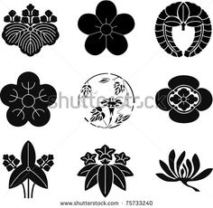 Japanese Family Crests 6 by aryunet