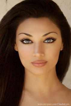 Iranian Model Claudia Lynx...easily one of the most beautiful girls in the world.