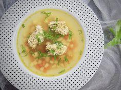 Zeleninová polévka s drožďovými knedlíčky – Snědeno.cz Food Porn, Soup, Ethnic Recipes, Soups, Treats
