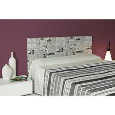 cabecero tapizado esencial alto 100 tela prensa es un cabecero de cama para aportar originalidad