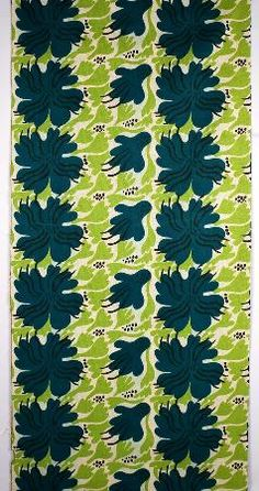 Sven Fristedt fabric from Borås Wäfveri AB 70s